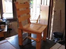 Jak zbudować drewniane krzesełko z regulacją wysokości