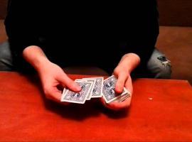 Jak zrobić sztuczkę z kartami - 4 karty
