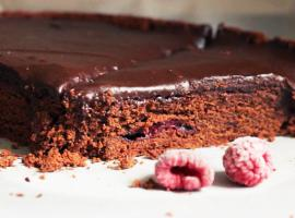Jak zrobić brownie z malinami na zimową chandrę