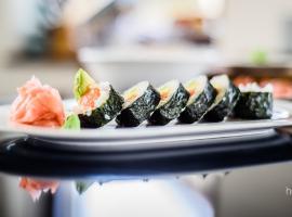 Jak przygotować w domu futomaki sushi