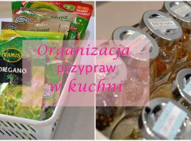 Jak ułatwić sobie życie w kuchni - organizacja przypraw