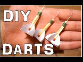 Jak zrobić rzutki z zapałek