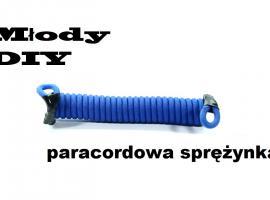 Jak zrobić sprężystą smycz z paracordu