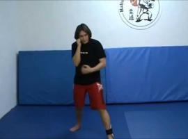 Jak trzymać gardę i pozycję bokserską