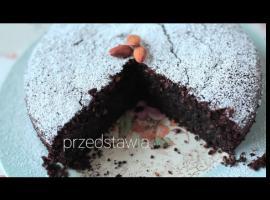 Jak zrobić torta caprese - bezglutenowe ciasto czekoladowe