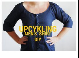 Jak przerobić męską koszulę na damski fatałaszek