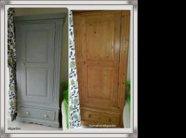 Jak zmienić wygląd zwykłej szafy drewnianej