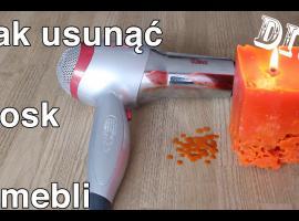 Jak pozbyć się wosku z meblu