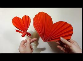 Jak zrobić harmonijkowe serce