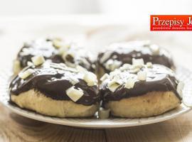 Jak przygotować pieczone pączki z czekoladą