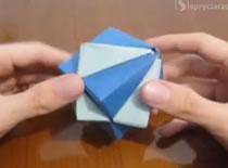 Jak zrobić podwójne pudełko z papieru