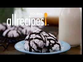 Jak przygotować popękane ciasteczka czekoladowe