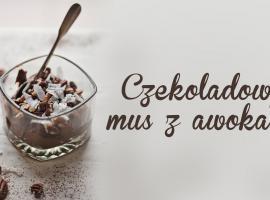 Jak przygotować coś słodkiego - czekoladowy mus z awokado