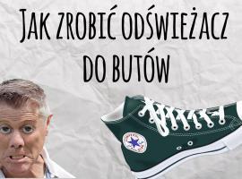 Jak zrobić odświeżacz do butów