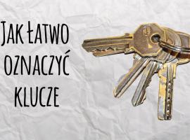 Jak oznaczyć klucze aby pamiętać, który jest do czego