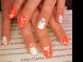 Jak zrobić paznokcie Walentynki