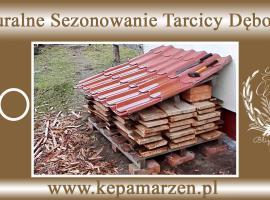Jak sezonować drewno - tarcica dębowa