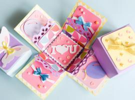 Jak zrobić otwierające się pudełko urodzinowe