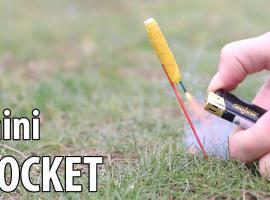 Jak zrobić mini rakietę do zabawy na dworze