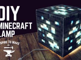 Jak zrobić lampę w stylu Minecrafta