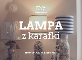 Jak zrobić lampę z karafki