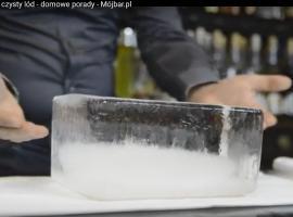 Jak zrobić krystalicznie czysty lód - bryła lodowa!