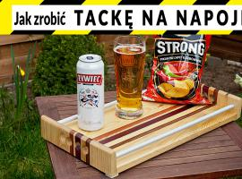 Jak zrobić coś fajnego z niczego - tacka na napoje i jedzenie