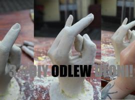 Jak zrobić odlew ręki