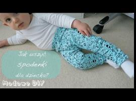 Jak uszyć spodenki dla dziecka w łatwy sposób