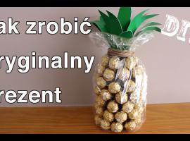 Jak zapakować prezent - sposób na ananasa