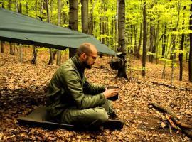 Jak wybrać miejsce na obóz w lesie