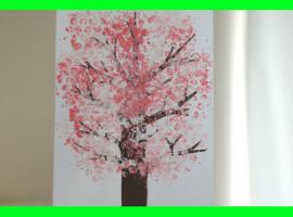 Jak malować za pomocą folii bąbelkowej
