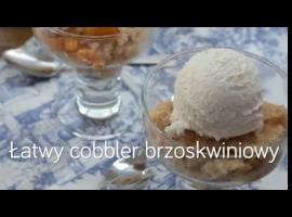 Jak przygotować cobbler brzoskwiniowy w łatwy sposób