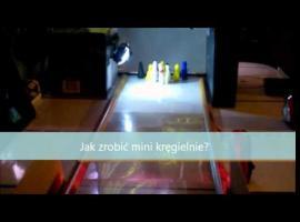 Jak zrobić mini kręgielnię w domu