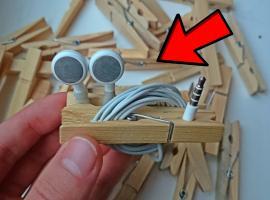 Jak wykorzystać drewniane klamerki - kilka pomysłów