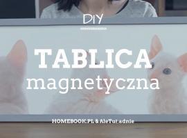Jak zrobić magnetyczną ramkę do pokoju dziecka
