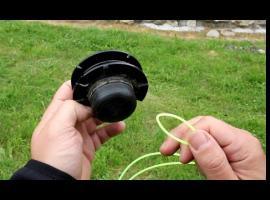 Jak wymienić żyłkę w kosiarce spalinowej lub elektrycznej