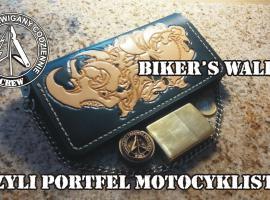 Jak zrobić portfel motocyklisty w 10 minut