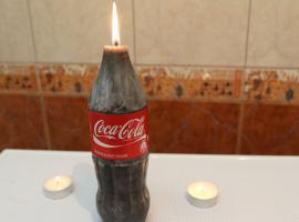 Jak zrobić świeczkę w kształcie Coca Coli