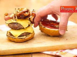 Jak przygotować domowego cheeseburgera w szybki sposób