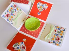 Jak zapakować prezent - samorozkładające się pudełko