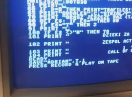 Jak kopiować gry na kasetę Commodore