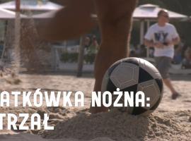 Jak grać w siatkówkę nożną - strzał