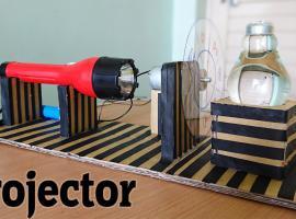 Jak zrobić projektor za pomocą żarówki