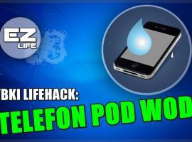 Jak korzystać z telefonu pod wodą - szybki life hack