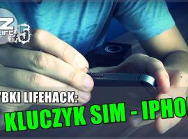 Jak szybko i łatwo zastąpić kluczyk SIM do Iphone