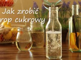 Jak zrobić syrop cukrowy - prosty sposób na dodatek do drinków
