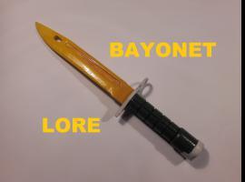 Jak zrobić nóż Bayonet Lore z drewna