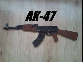 Jak pomalować papierowego AK-47