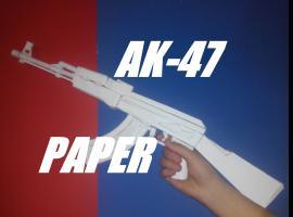 Jak zrobić karabin AK-47 z papieru